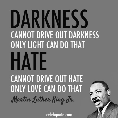 martin luther king jr quotes about racism